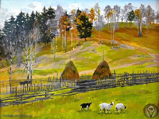 Уфимский художник Ралиф Ахметшин