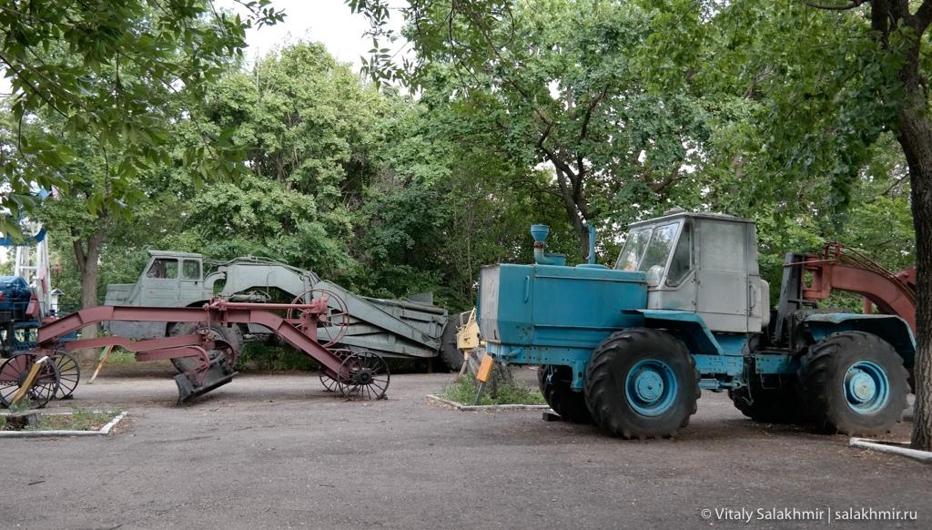 Экспозиция сельскохозяйственной техники, Саратов 2020