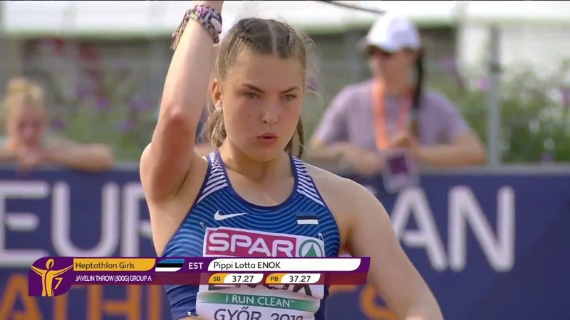European Youth Championships Gyor 2018 - Day 2 Evening