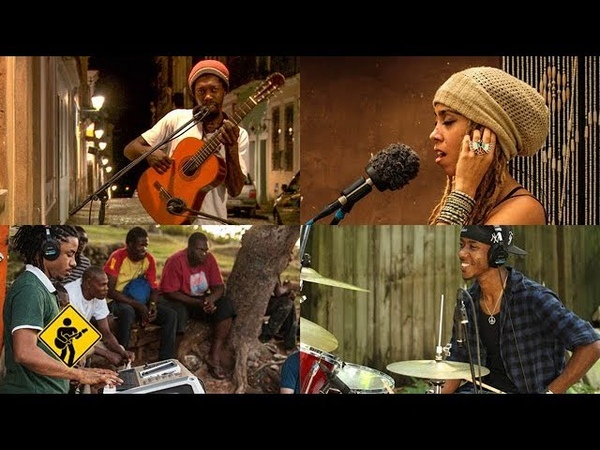 Rasta Children feat. Nattali Rize Brushy One String Playing For Change Song Around The World