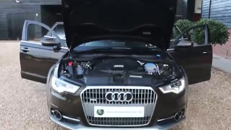 Audi A6 Allroad 3 0 TDi Quattro S Tronic Automatic in Java Brown with Full Black