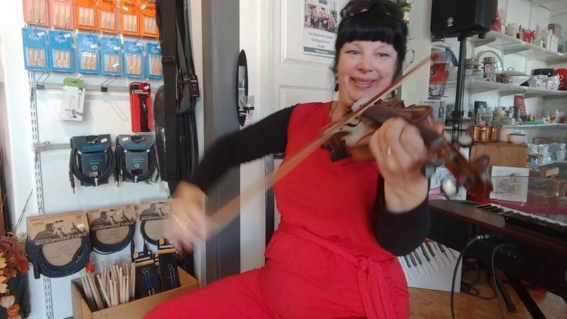 Halleluja o Guds Lamm Little Fiddle och fru Röjdemo