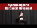 Puzzle Game Juggling Trick No.15 - 3 balls Synchro Upper R Horizontal Movement