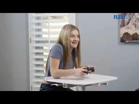 FLEXISPOT Home Office Standing Desk Exercise Bike Height Adjustable Cycle Deskcise Pro