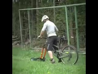 Идея для тех кому лень просто так косить траву