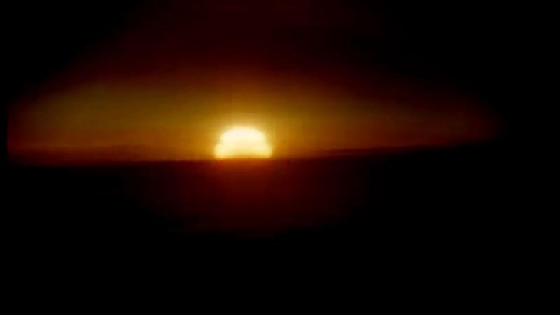 SOVIET 50 MEGATONS TSAR BOMBA TEST DECLASSIFIED FOOTAGE