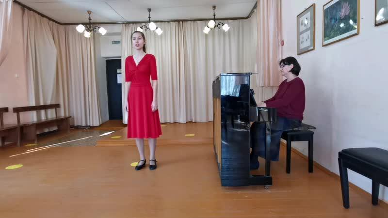 Мария Шляпникова Песня Наташи из оперы Русалка