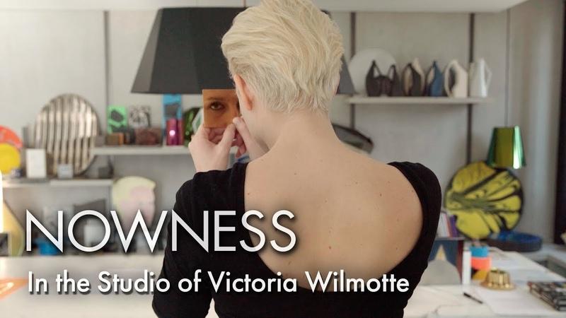 In the Studio of Victoria Wilmotte