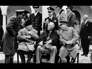 ялтинская конференция. Сталин, Черчилль и Рузвельт - Охота на «большую тройку»!!
