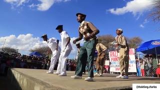 WATCH  Pantsula parade and dance at Ramotswa #pantsula #mapantsula