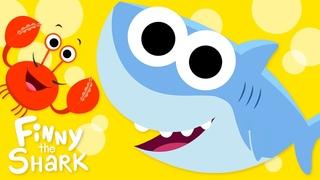 Open Shut Them #3   Opposites Song for Kids   Finny The Shark