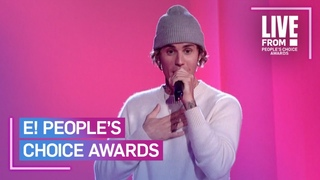 """Justin Bieber Performs """"Lonely (With benny blanco)"""" and """"Holy"""" at PCAs 