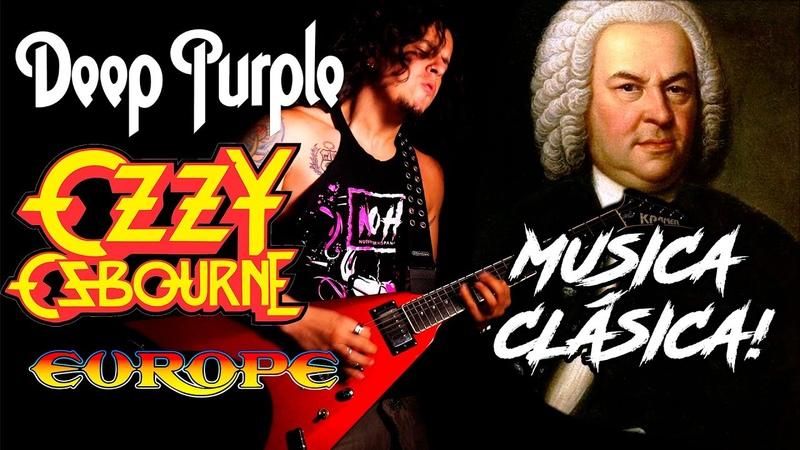 Música Clásica en el ROCK POP METAL MEDLEY en Guitarra Charlie Parra
